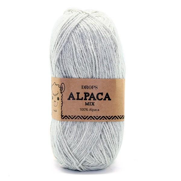 Пряжа Drops Alpaca 9020 серебристый