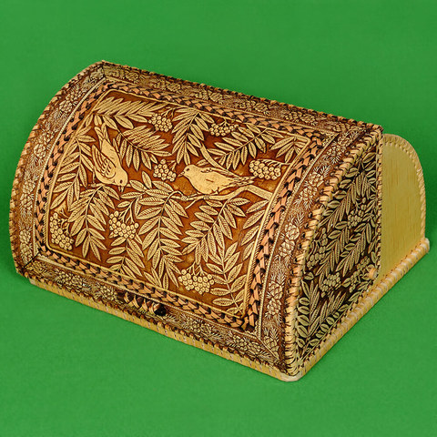 Хлебница с изображением Птиц 1