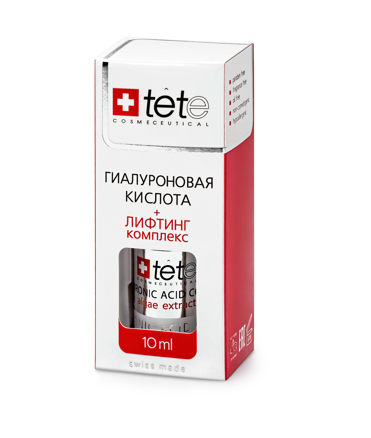 МИНИ Гиалуроновая кислота + Лифтинг комплекс / TETe MINI Hyaluronic Acid + Lifting Complex 10 ml