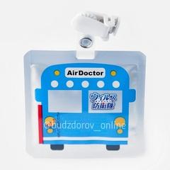 ВирусСтопер для детей -бейдж на прищепке (машинка) Air Doctor