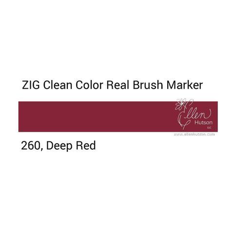 Маркер акварельный ZIG Clean Color Real Brush- штучно - 260