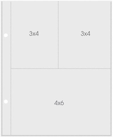 Фотофайлы Pocket Pages 15x20 см