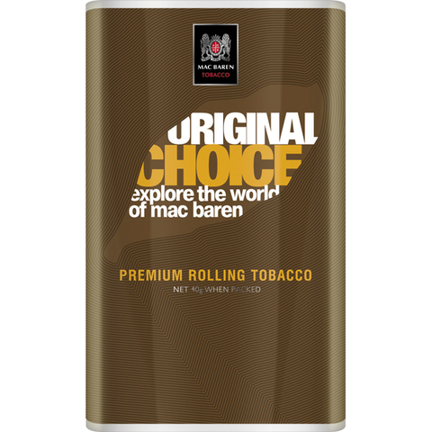 Табак для самокруток Mac Baren Original Choice
