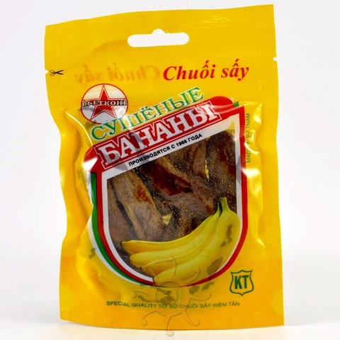 Бананы сушеные Chuoi say, 100г