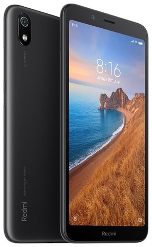 Смартфон Xiaomi Redmi 7A 2/16GB Black (Черный)