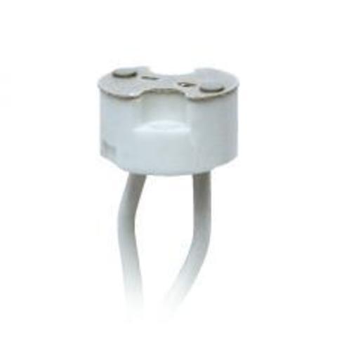 Патрон керамический для лампы на цоколе GU4-GU5.3