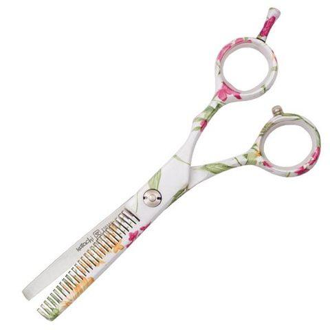 Профессиональные парикмахерские ножницы для филировки Katachi White Beauty 5.5