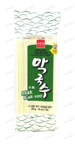 Корейская пшеничная тонкая лапша Mak Kuk-soo, 453 гр.
