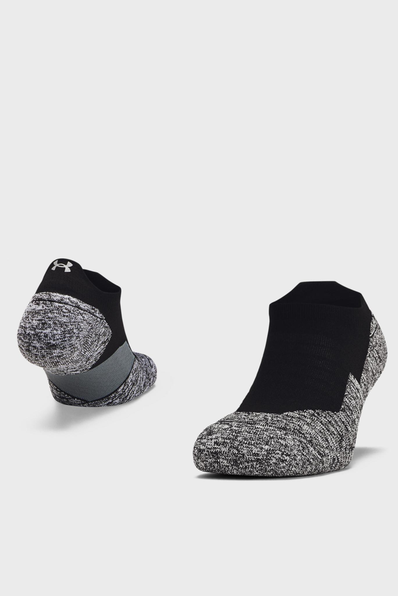 Черные носки UA Run Cushion NS Tab Under Armour