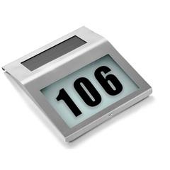 Световой указатель номера дома на солнечной батареи «Мой дом»