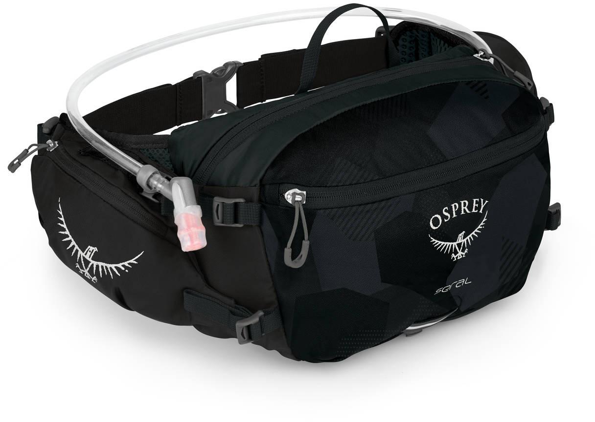 Сумки для бега Сумка поясная Osprey Seral 7 Obsidian Black Seral_S19_Side_Obsidian_Black_web.jpg