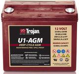 Тяговый аккумулятор Trojan U1-AGM ( 12V 33Ah / 12В 33Ач ) - фотография
