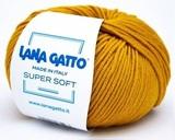 Пряжа Lana Gatto Supersoft 14468 золотая горчица