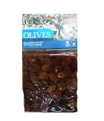 Оливки  Каламон с орегано в масле ILIDA 250 гр