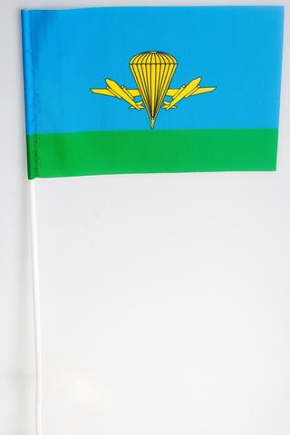 Купить флажок ВДВ России на палочке - магазин тельняшек.ру 8-800-700-93-18