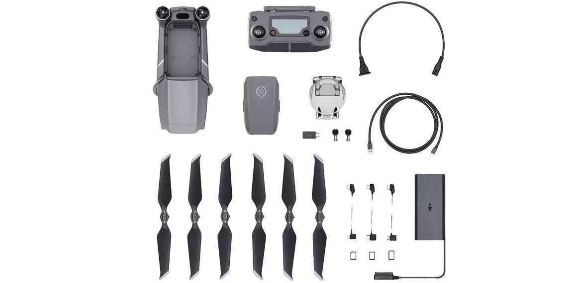 Квадрокоптер DJI Mavic 2 Zoom комплектация