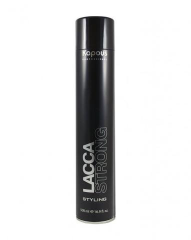 Лак аэрозольный для волос сильной фиксации «Lacca Strong», 500 мл
