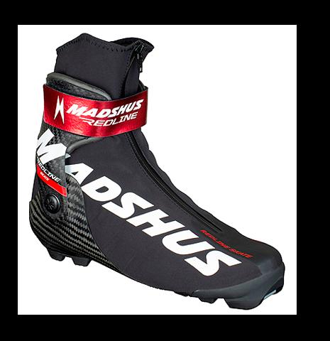 Профессиональные лыжные ботинки Madshus Redline Skate (2019/2020) для конькового хода