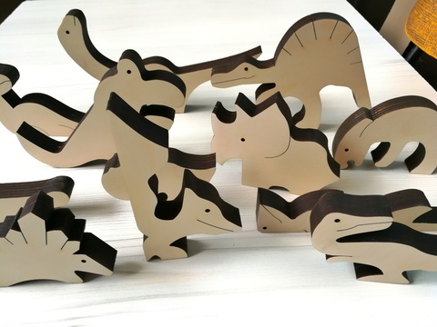 Пазл-головоломка из дерева