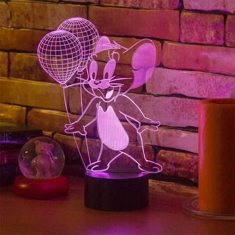 3D светильник Джерри