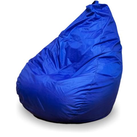 Бескаркасное кресло «Груша» L, Синий