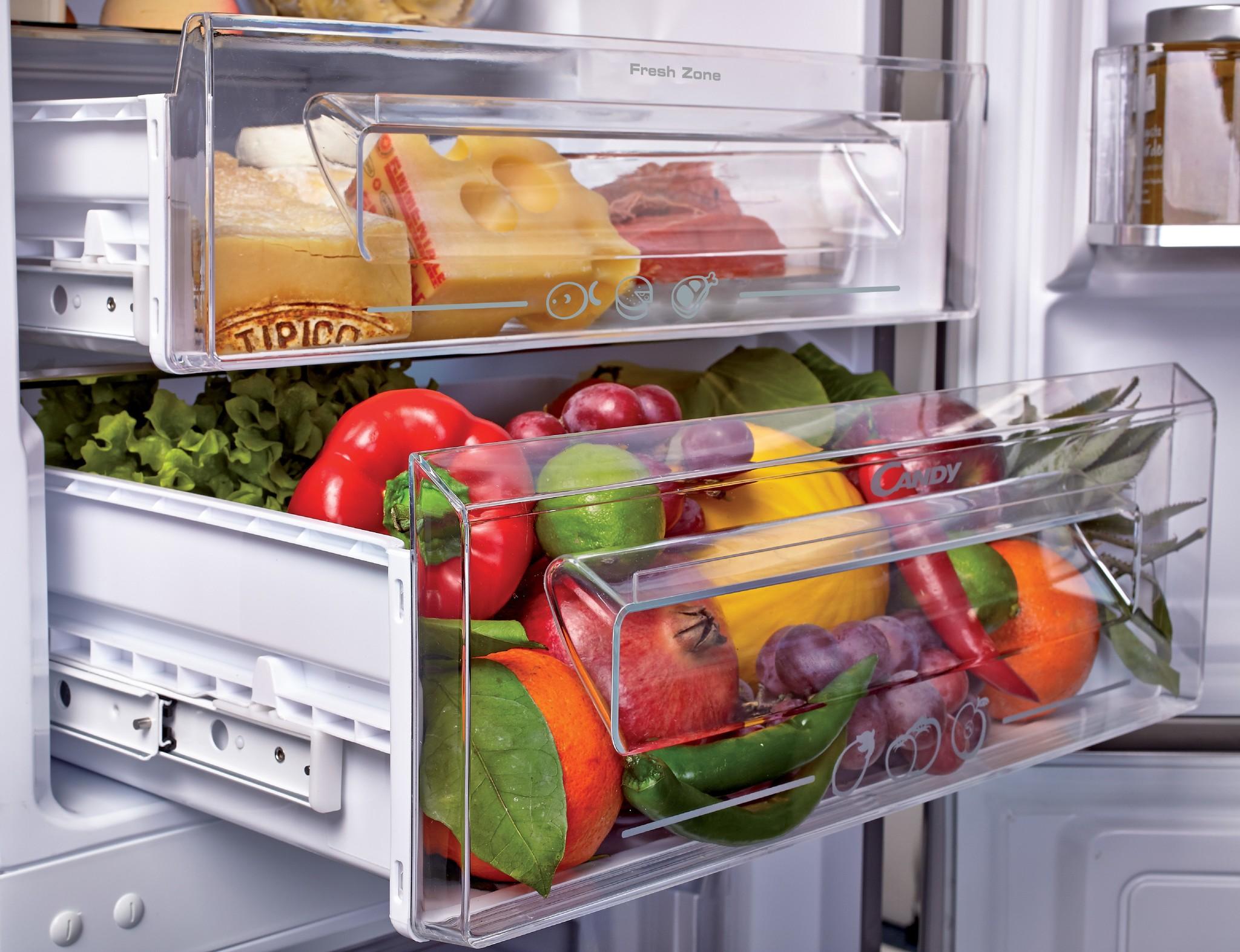 Встраиваемый холодильник Candy CKBBS182FT фото 3