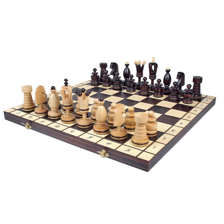 Шахматы Королевские Большие (инкрустация) 107 пр-во Польша