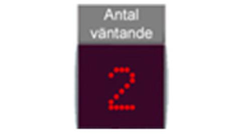 Экран уведомлений персонала (Сумматор) D911