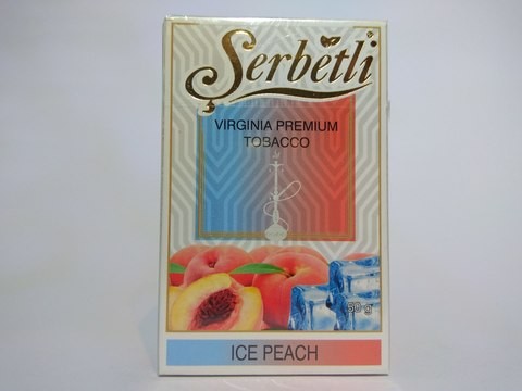 Табак для кальяна SERBETLI Ice Peach 50gr