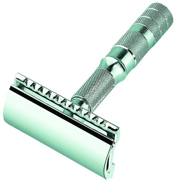 Станок Т- образный для бритья MERKUR 90933000 хромированный разборный в чехле
