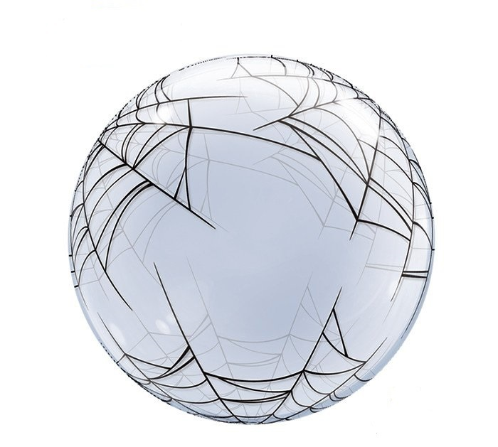 Шары Человек Паук Шар BUBBLE Паутина spiders-web-bubble-balloon.jpg