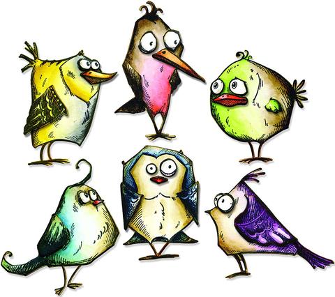Печать на вафельной бумаге, Набор Птицы 2