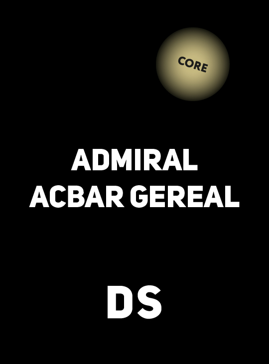 Аксессуар DS CORE ADMIRAL ACBAR CEREAL 100