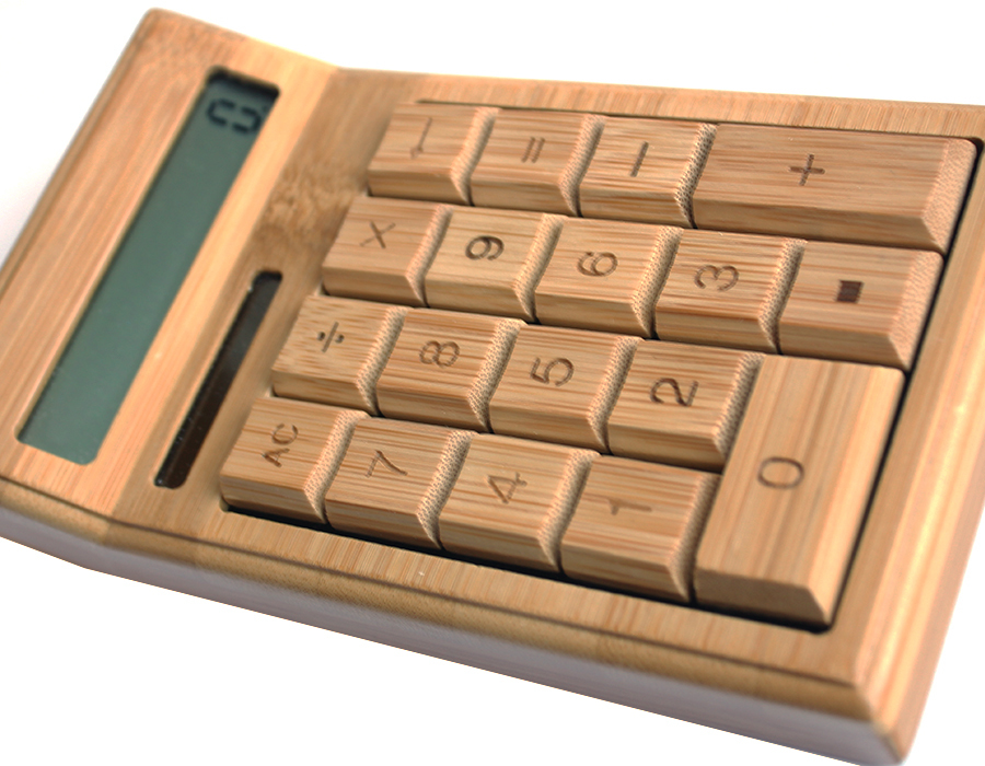 Калькулятор деревянный