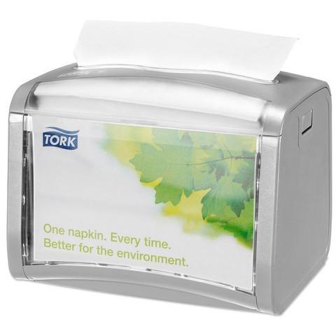 Диспенсер для салфеток Tork Xpressnap 272613 N4 настольный пластиковый серый