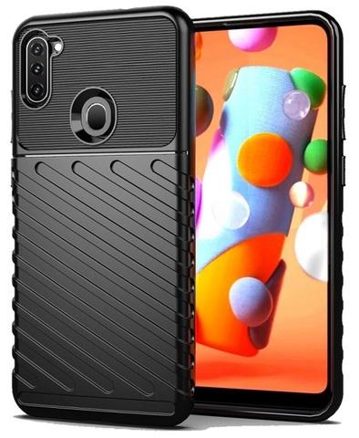 Противоударный чехол с объемным рисунком на Samsung Galaxy A11, серия Onyx от Caseport