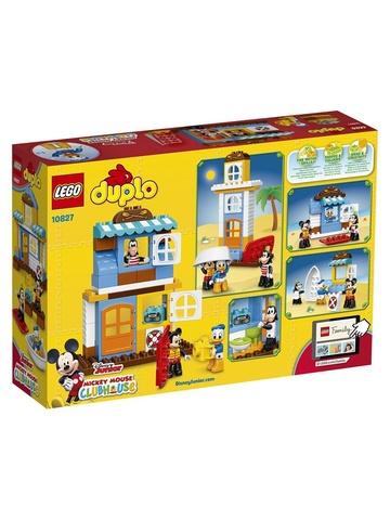 LEGO Duplo: Домик на пляже 10827 — Mickey Mouse Clubhouse — Лего Дупло