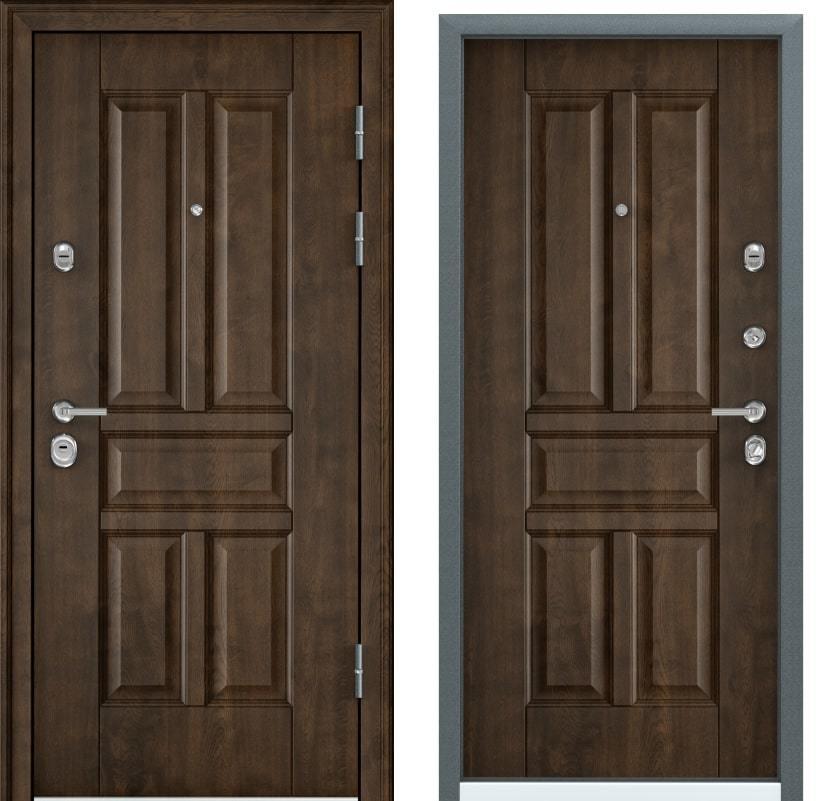 Утеплённые двери Torex Ultimatum M PK-9U орех грецкий с двух сторон generated_image-10.jpg