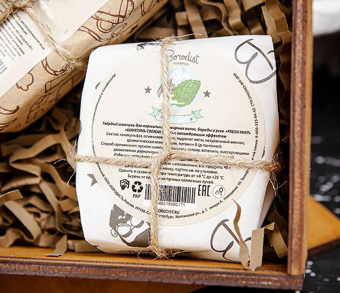 Мужской набор из мыла для волос, тела и глина для укладки фото 03