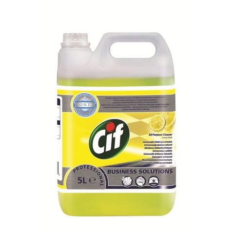 Универсальное чистящее средство Cif professional Лимон 5л