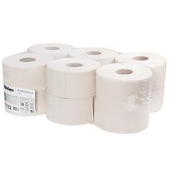 Бумага туалетная в рулонах Veiro Professional Q2 Basic 1-слойная 12 рулонов по 200 метров (артикул производителя T102)