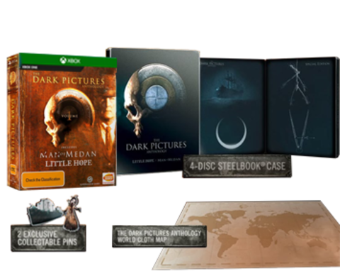 Xbox One The Dark Pictures: Little Hope. Steelbook Edition Bundle (русская версия)