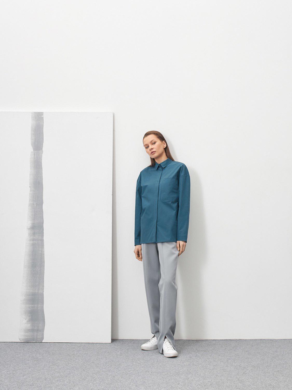 Рубашка Kathleen, Синий