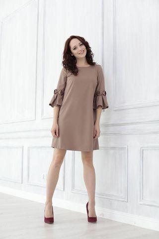 Платье для беременных 08829 капучино