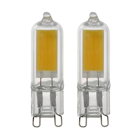 Лампа (комплект 2 шт.) Eglo LED LM-LED-G9 2х3W 200Lm 4000K G9-LED 11677