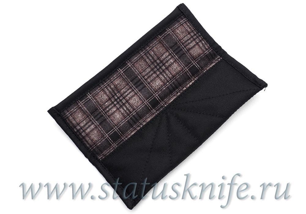 Чехол тканевый чёрный на магнитах Широгоров МБШ - фотография