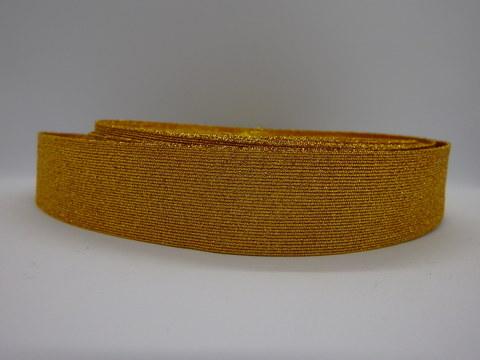 Галун металлизир. текстильный (ширина 30 мм) золото