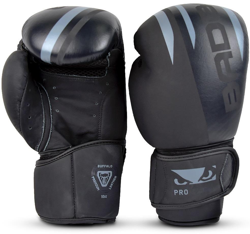 Перчатки Перчатки для бокса Bad Boy Pro Series Advanced Boxing Gloves - Black/Grey 1.jpg