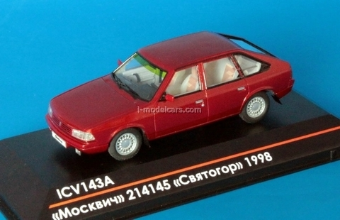 Moskvich-214145 Svyatogor Limited Edition of 50 red 1:43 ICV143