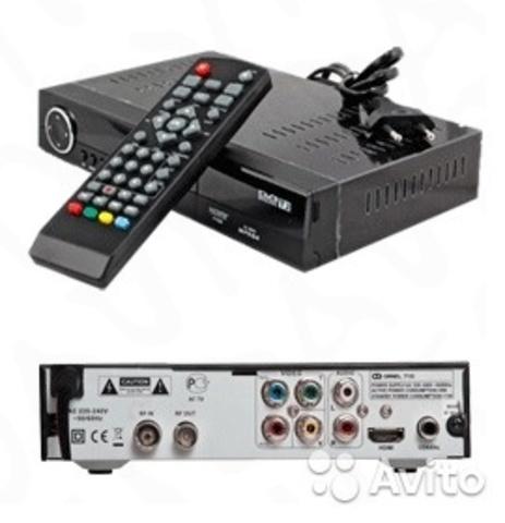Цифровая ТВ приставка ресивер XPX T38